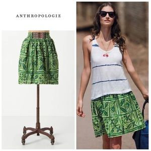 Anthropologie Fresh Cut skirt